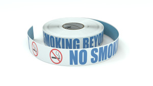 ANSI: No Smoking Beyond This Point - Inline Printed Floor Marking Tape