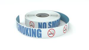 ANSI: No Smoking - Inline Printed Floor Marking Tape