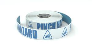 ANSI: Pinch Hazard - Inline Printed Floor Marking Tape