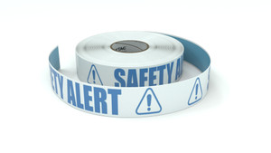 ANSI: Safety Alert - Inline Printed Floor Marking Tape