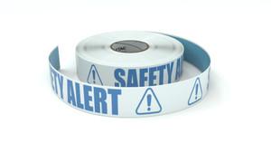 ANSI: Safety Alert - Inline Printed Floor Marking Tape