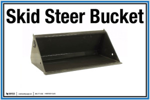 """Wall Sign: (United Rentals Logo) Skid Steer Bucket - 12""""x18"""" (Peel-and-Stick Permanent Adhesive)"""