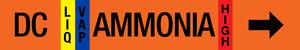 Ammonia Label - Defrost Condensate