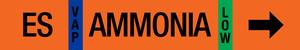 Ammonia Label - Economizer Suction