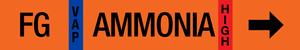 Ammonia Label - Foul Gas