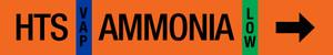 Ammonia Label - High Temperature Suction