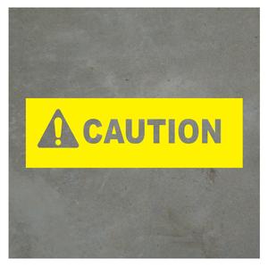 Virtual Caution Sign