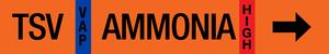 Ammonia Label - Thermosyphon Return