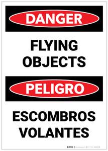 Danger: Flying Objects - Label