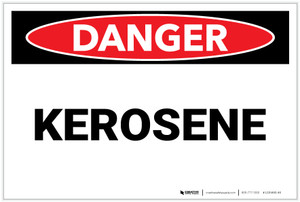 Danger: Kerosene - Label