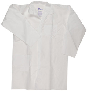 KleenGuard A20 - White Lab Coat - Loose Wrists