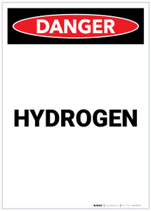 Danger: Hydrogen Portrait - Label