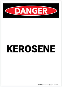 Danger: Kerosene Portrait - Label