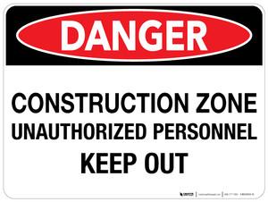 Danger: Construction Zone