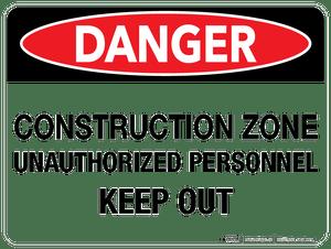 Danger: Construction Zone