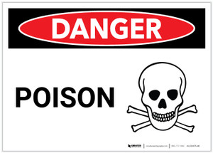 Danger: Poison - Label