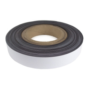 Adhesive backed magnetic tape 1""