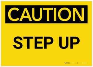 Caution: Step Up - Label