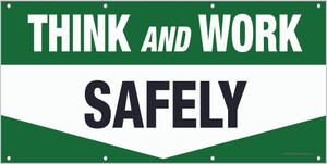 Think and Work Safely Banner