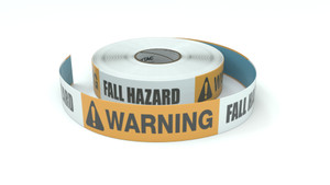 Warning: Fall Hazard - Inline Printed Tape
