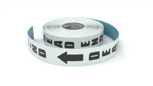 Traffic: Dead End - Inline Printed Floor Marking Tape