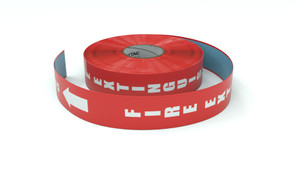 Traffic: Fire Extinguishger - Inline Printed Floor Marking Tape