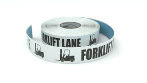 Traffic: Forklift Lane - Inline Printed Floor Marking Tape