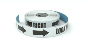 Traffic: Look Right - Inline Printed Floor Marking Tape