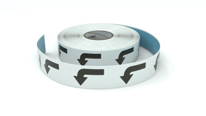 Traffic: Left Turn Arrow - Inline Printed Floor Marking Tape
