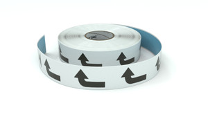 Traffic: Right Turn Arrow - Inline Printed Floor Marking Tape