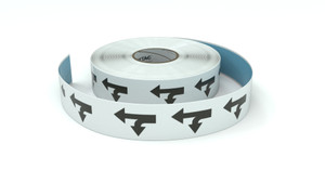 Traffic: Straight Left Arrow - Inline Printed Floor Marking Tape