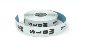 Traffic: Slow Vertical - Inline Printed Floor Marking Tape
