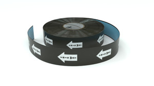Traffic: This Way Arrow - Inline Printed Floor Marking Tape