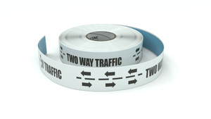 Traffic: Two Way Traffic Arrows - Inline Printed Floor Marking Tape