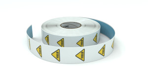 Traffic: Yield Icon - Inline Printed Floor Marking Tape