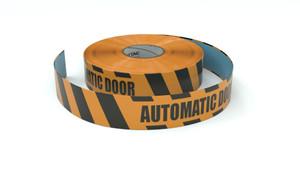 Hazard: Automatic Door - Inline Printed Floor Marking Tape