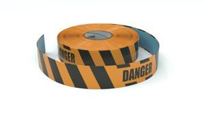 Hazard: Danger - Inline Printed Floor Marking Tape