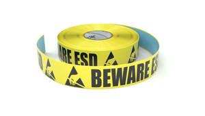 ESD: Beware ESD - Inline Printed Floor Marking Tape