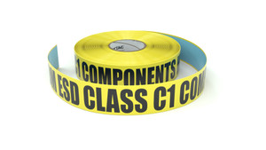 ESD: CDM ESD Class C1 Components Here - Inline Printed Floor Marking Tape