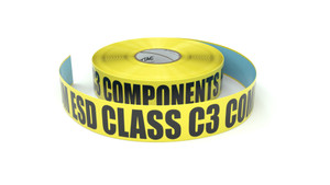 ESD: CDM ESD Class C3 Components Here - Inline Printed Floor Marking Tape