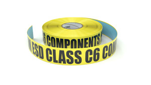 ESD: CDM ESD Class C6 Components Here - Inline Printed Floor Marking Tape