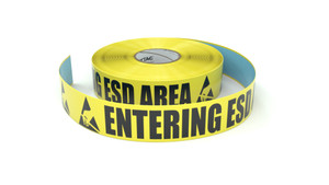ESD: Entering ESD Area - Inline Printed Floor Marking Tape