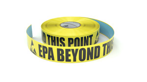 ESD: EPA Beyond This Point - Inline Printed Floor Marking Tape