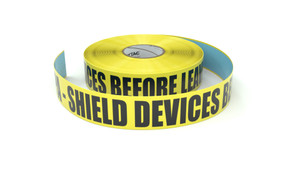 ESD: EPA - Shield Devices Before Leaving - Inline Printed Floor Marking Tape