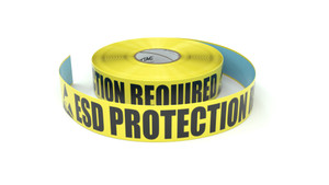 ESD: ESD Protection Required - Inline Printed Floor Marking Tape