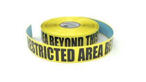 ESD: ESD Restricted Area Beyond This Point - Inline Printed Floor Marking Tape