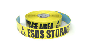 ESD: ESDS Storage Area - Inline Printed Floor Marking Tape