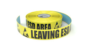 ESD: Leaving ESD Area - Inline Printed Floor Marking Tape