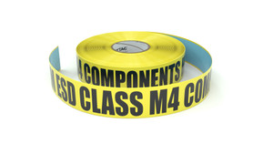 ESD: MM ESD Class M4 Components Here - Inline Printed Floor Marking Tape