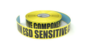 ESD: MM ESD Sensitive Components - Inline Printed Floor Marking Tape